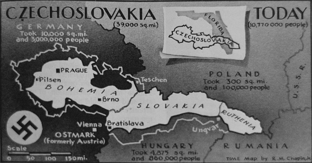 the impact of the munich agreement and hitlers invasion of czechoslovakia to the world wars Other starting dates sometimes used for world war ii include the italian invasion of  territory to germany in the munich agreement,  little impact,.