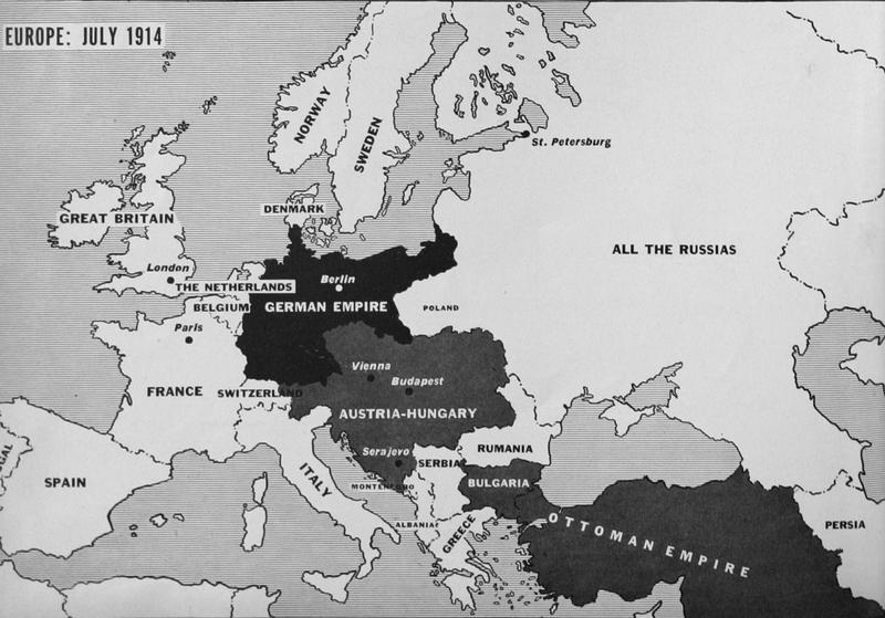 Maps Of WWI - Berlin map 1914