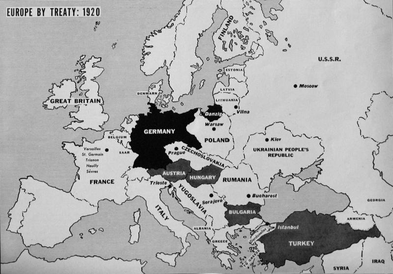 Maps of WWI