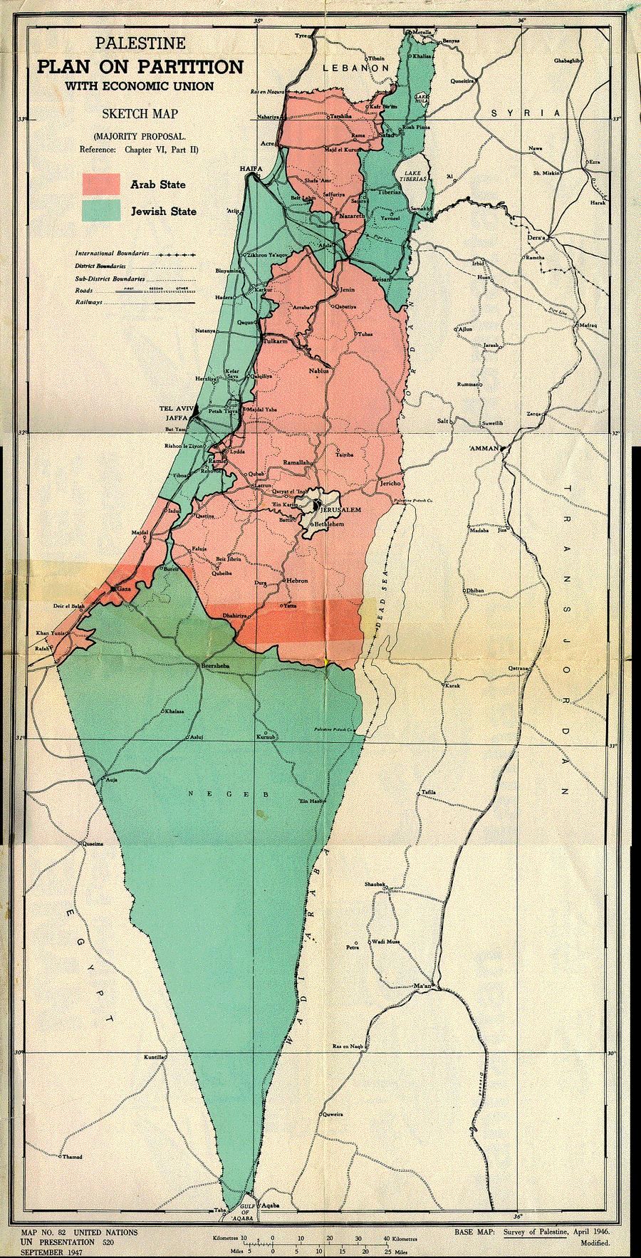 a history of the arab israeli wars after the partition of palestine in 1947 Palestine plan dalet 1947 partition plan the arab–israeli conflict – the palestine war 1948 a history of the first arab–israeli war.