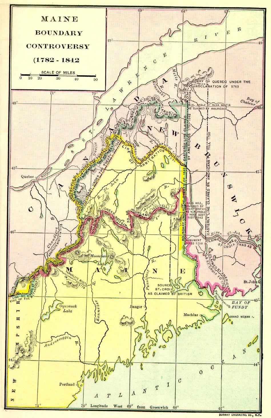 Daniel Webster & the Ashburton Treaty