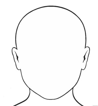 how to find out which line is face